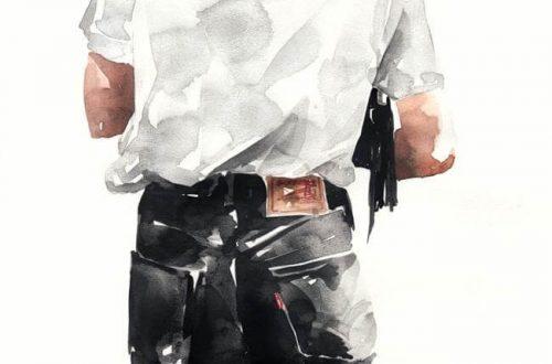 Nhật ký học vẽ màu nước