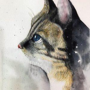 Adele Doan Blog học màu nước