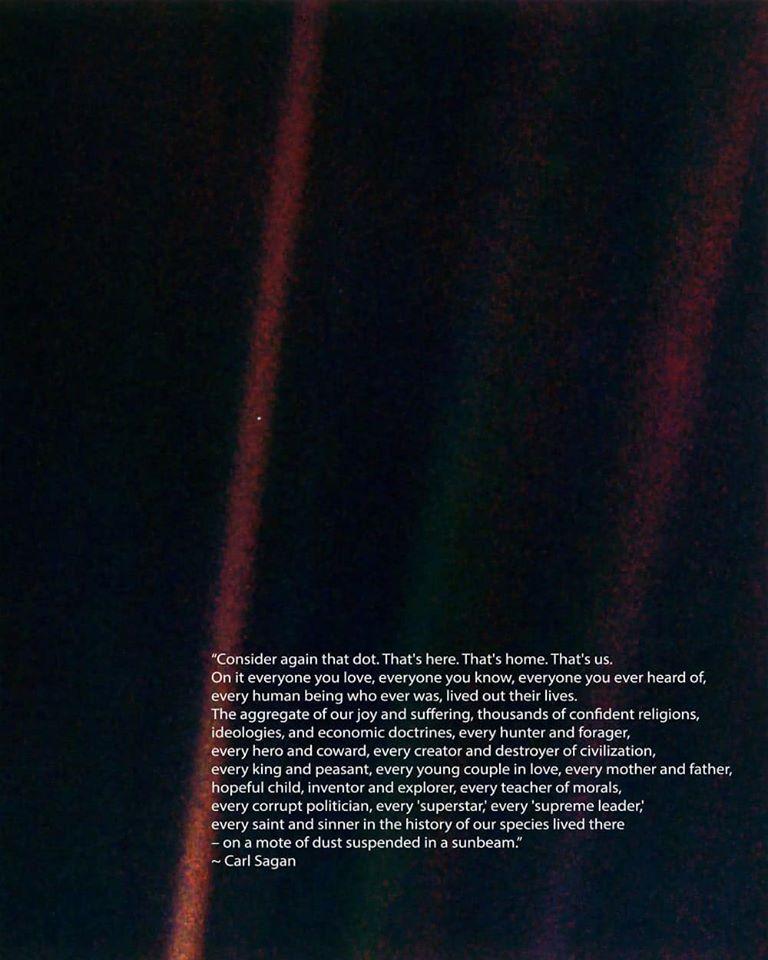 Pale Blue Dot: Hình ảnh của trái đất