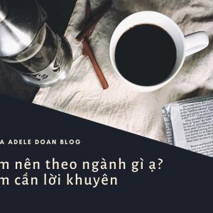 Em nên theo ngành gì ạ? - Adele Doan Blog