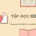 TẬP ĐỌC 101 - Adele Doan Blog
